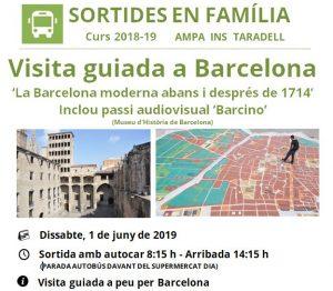 Visita Barcelona 1 juny 2019